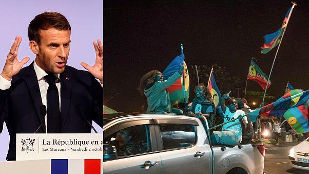 Presidente de França promete dialogar com os independentistas