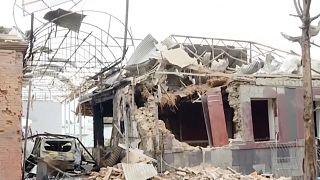 Bombardeos en Ganja, Azerbaiyán
