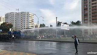 Rengeteg embert vettek őrizetbe a vasárnapi belorusz tüntetéseken
