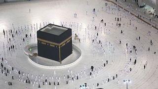 Mekka zur kleinen Wallfahrt wieder offen