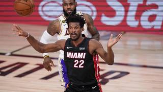 Jimmy Butler Brings the Miami Heat to Lakers Game