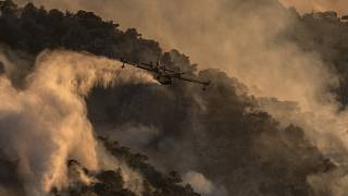 File photo - Greece fires
