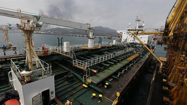 یکی از نفتکشهای ایران که ماه مه گذشته وارد ساحل ونزوئلا شد