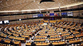 Az Európai Parlament brüsszeli ülésterme
