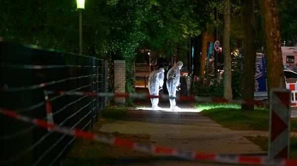 The 26-year-old victim was attacked as he was about to enter the synagogue in northern Germany.