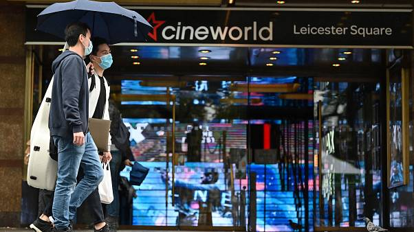 """صورة دور السينما البريطانية """"سينيوورلد"""" في لندن"""
