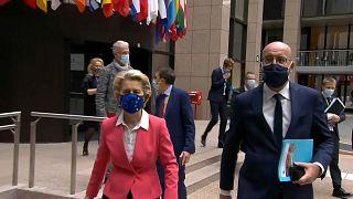 Kommissionspräsidentin Ursula von der Leyen und Ratspräsident Charles Michel