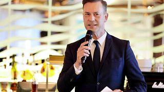 Moderator Mario Schmidt