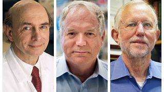 I tre vincitori del Premio Nobel per la Medicina.