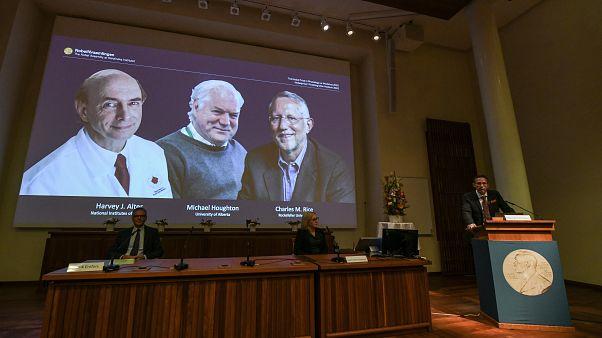Лауреаты Нобелевской премии по медицине и физиологии - 2020