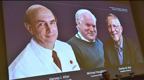 Medicine Nobel Price-winners, 2020.
