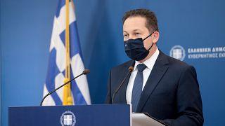 Ο κυβερνητικός εκπρόσωπος της Ελλάδας, Στέλιος Πέτσας