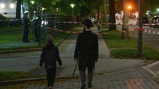 محل حمله به جوان یهودی در هامبورگ آلمان