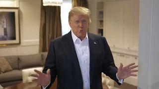 Trump podría ser dado de alta y seguir su tratamiento en la Casa Blanca
