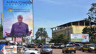 Guinée : le président Alpha Condé appelle les électeurs au calme