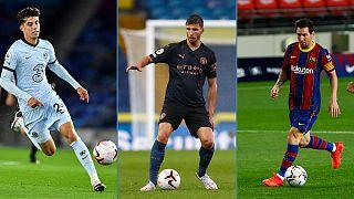 Kai Havertz lidera o top, Rúben Dias é o defesa mais caro e Leo Messi fez tremer Barcelona