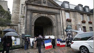 Les obsèques de Juliette Gréco à Saint-Germain-des-Près