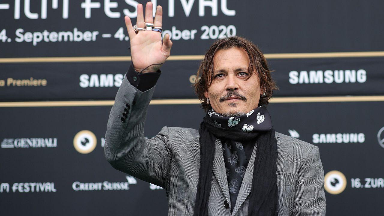 Johnny Depp at the Zurich Film Festival