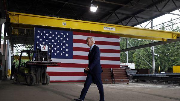 المرشح الديموقراطي للرئاسة جو بايدن.
