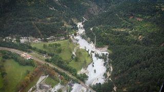 شاهد: الفيضانات تغمر جنوب فرنسا