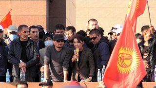 Protestos no Quirguistão