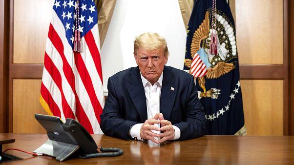 """Wie in Nordkorea"" - Die Kommunikation zu Covid-19-Patient Trump"
