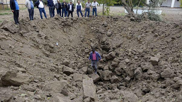 Kriegschäden in Beylagan