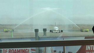 Primer vuelo internacional en Lima tras 7 meses de cierre de fronteras por la COVID-19