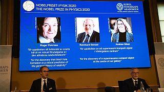اعلام برندگان جایزه نوبل فیزیک