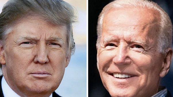 Doald Trump és Joe Biden