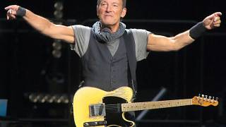 Bruce Springsteen performs with the E Street Band during their The River Tour 2016 in Baltimore.