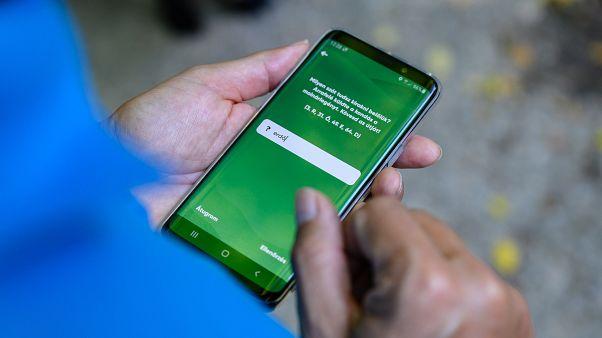 Alkalmazás mobiltelefonon