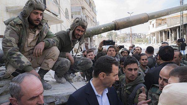 НПО против правительства Сирии