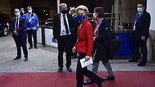 European Commission President Ursula von der Leyen,