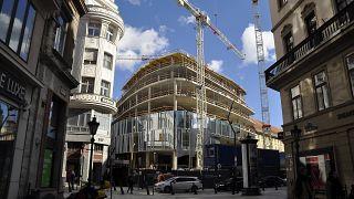Építkezés Budapesten