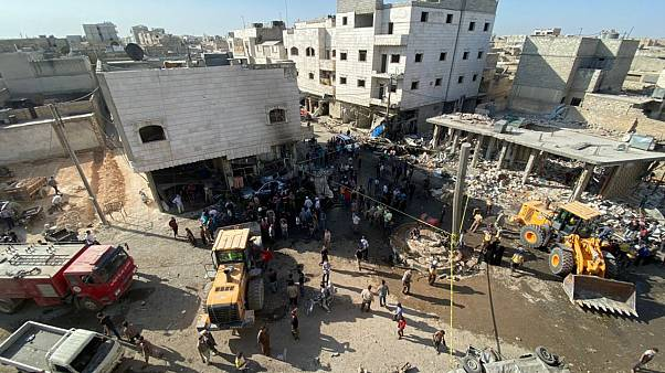Suriye'nin kuzeyindeki Bab ilçesinde bombalı araç patladı