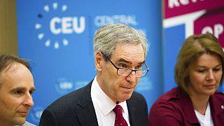 Michael Ignatieff, a CEU rektora