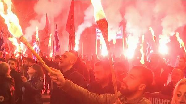 Golden Dawn Protesters