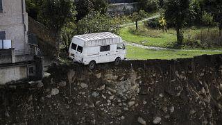 """Alpes Marítimos contam os mortos da tempestade """"Alex"""""""