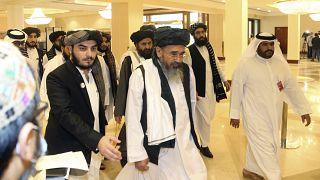 وفد طالبان لمفاوضات السلام يصل قطر