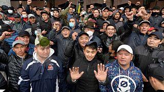 اعتراضها در قرقیزستان
