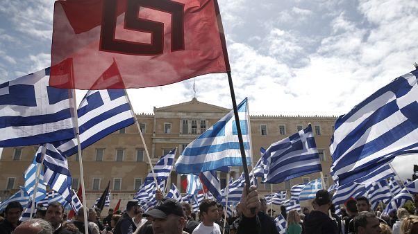 """Grèce : le parti néonazi """"Aube dorée"""" qualifié  d'""""organisation criminelle"""""""