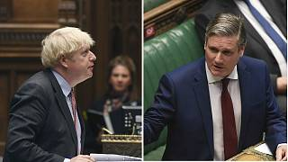 Coronavirus was top the agenda as Boris Johnson clashes with Sir Keir Starmer over the despatch box