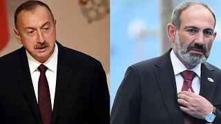 Οι ηγέτες Αζερμπαϊτζάν και Αρμενίας
