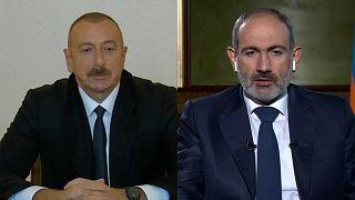 Ilham Aliyev et Nikol Pachinian en direct sur Euronews