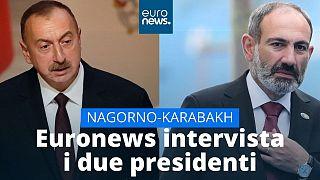 Αποκλειστικό: Αλίγιεφ και Πασινιάν μιλούν στο euronews για την σύγκρουση στο Ναγκόρνο Καραμπάχ