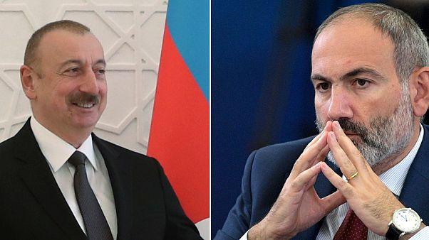 Ilham Aliyev e Nikol Pashinyan