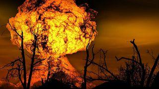Под Рязанью горит склад с боеприпасами