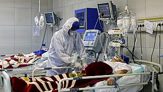 بستری بیماری کرونایی در ایران