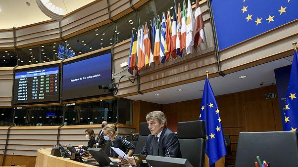 David Sassoli, az EP elnöke